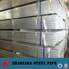 Rectangular pipe Tope Supplier of Pre-galvanize steel Pipe in Tianjin