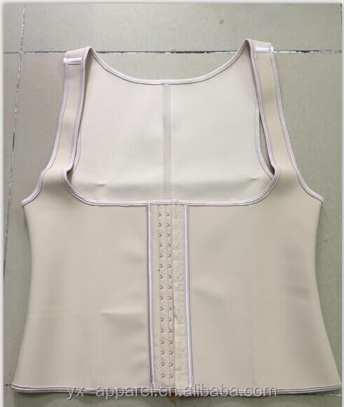 high quality 9 steel boned big women latex slimming corset vests and corsets
