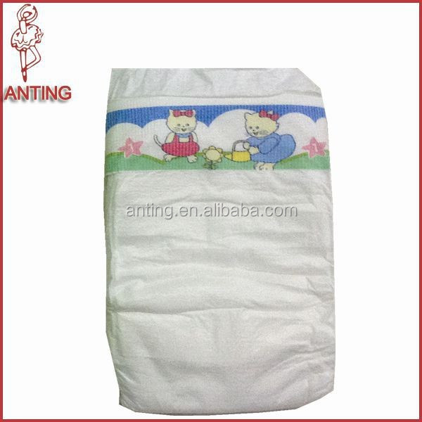Skincare Disposable Baby Diaper,High Absorption Cotton Quality Baby Diaper