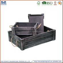 high quality popular natural cheap wholesale small wooden crates