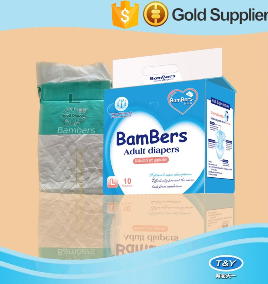 Breathable and Waterproof Disposable Adult Diaper