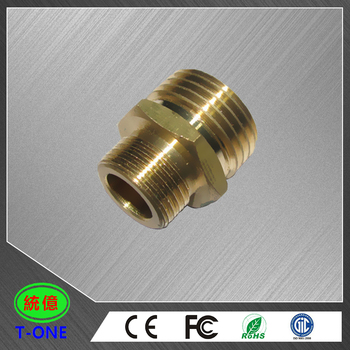 CNC turning precision parts processed brass die casting