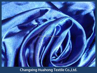 P/D colors 100% polyester satin fabric for light proof curtain fabric from china factory