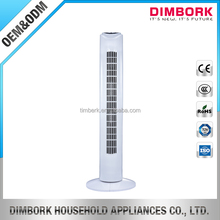 32 inch plastic tower fan with remote control