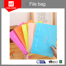 a4 Size Booklet Document File Envelope Folder Holder Organizer Bag With Snap Button