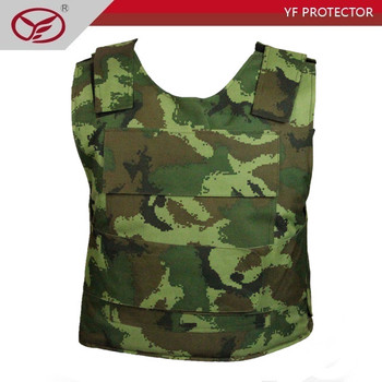 Level 3 bulletproof armor /plate insert with kevlar bulletproof vest