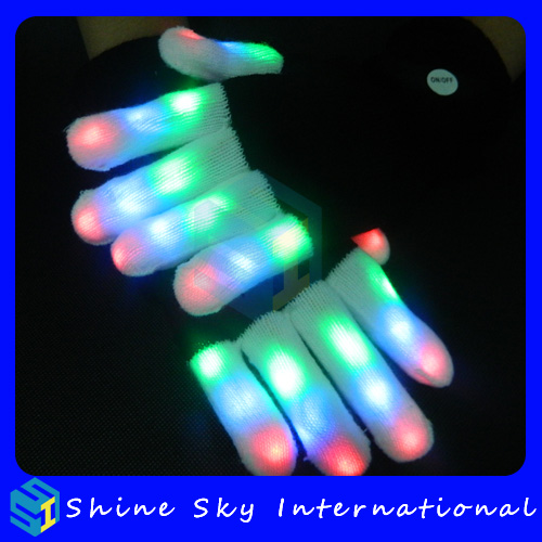 Amazon best selling modern led gloves,gloves high quality gloves with nails