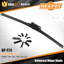 QP-F24 cost-effective Multifunctional Wiper Blade palio prices on the windshield