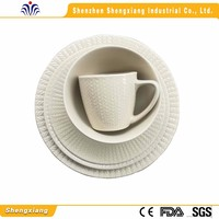 Short time delivery reasonable price tableware porcelain
