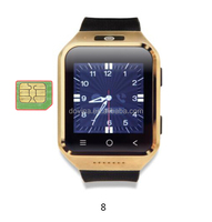 Multi language wrist watch mobile phone wifi android for sale