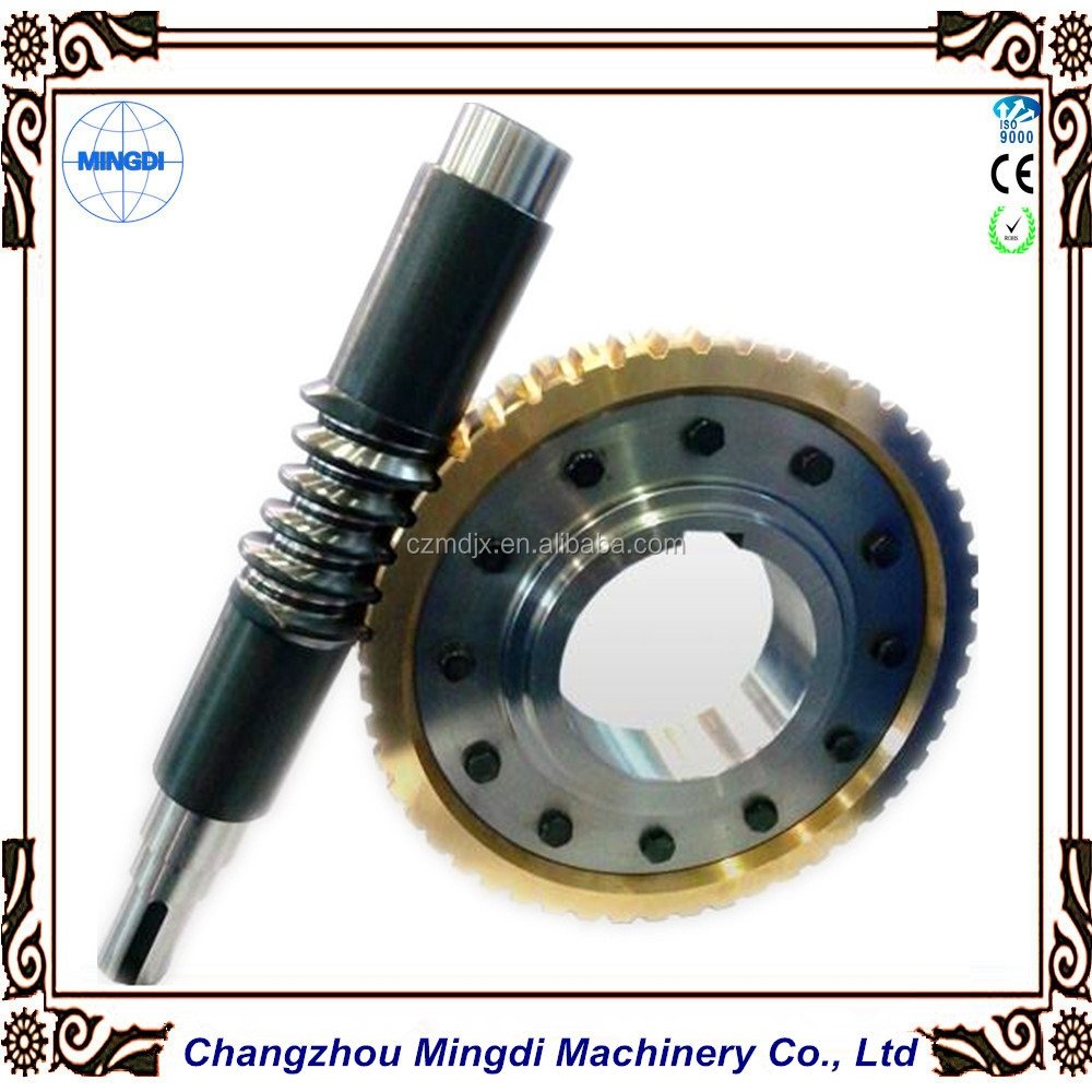 Customized Brass/Bronze Copper Worm Gear & Worm Shaft