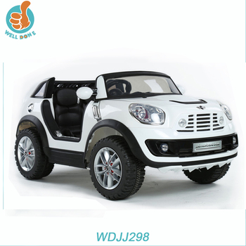 WDJJ298 Licensed kids mini cooper car with remote control, CE approved, two seats fashion toy