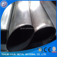 stainless elliptical tube