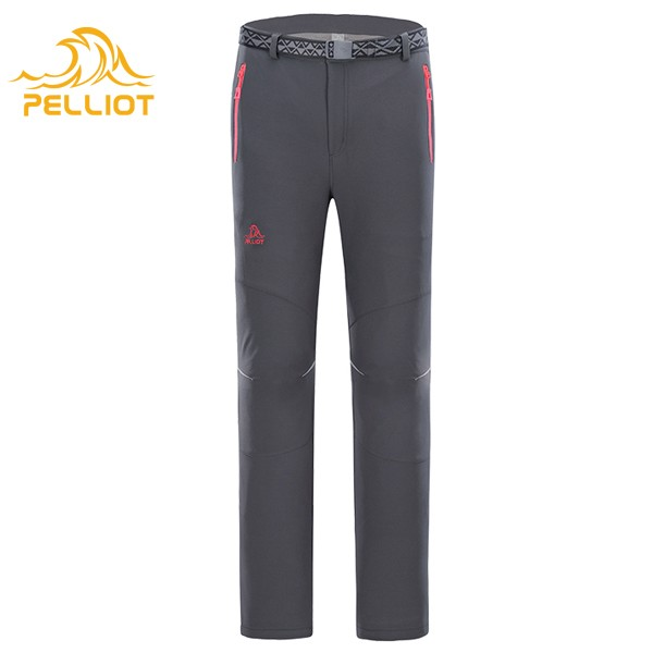 Beautiful Womens Hiking Pants Fleece Lining Waterproof Strectable Soft Shell