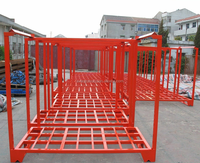 Heavy Duty stainless steel stacking frame pallet racking with galvanized finished