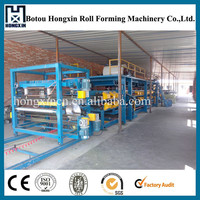 Rock Wool Composite Board Roll Forming Machine for Sale Sandwich Panel Machine Line Price