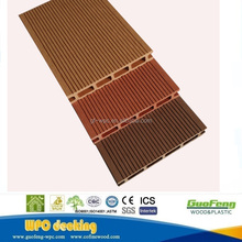 2017 high quality outdoor waterproof hollow wpc decking <strong>flooring</strong>