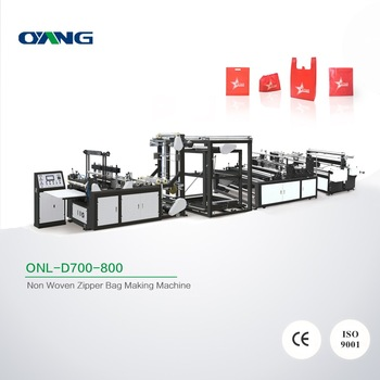 Factory price Multi-function newest designed multi-function shoe bag t shirt bag forming machine