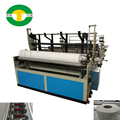 Maxi roll log saw slitting and rewinding machine