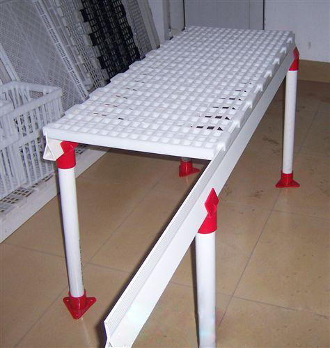 1.2m * 0.5m size Poultry plastic slats floor for farming broiler chicken house