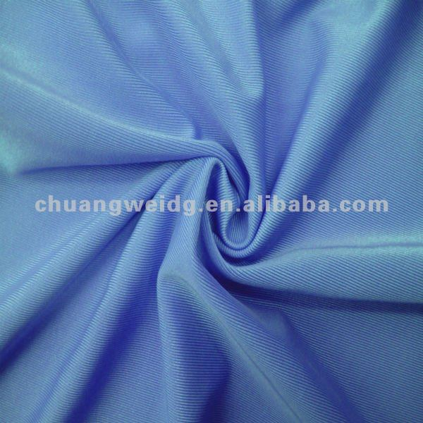 Solid 4 Way Stretch Polyester Spandex Activewear Fabric