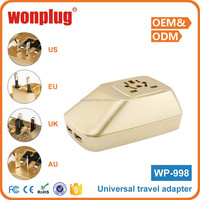 2016 top sale high quality world travel adapter gift items wholesale in mumbai