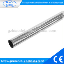 Metal Tube Hanging Rail - Steel with Chrome Finish, L3000mm, Dia25mm