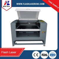 lable/logo cutter, CCD laser cutting machine with 400*600mm working area 60W