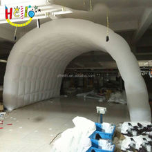 Custom made party used fabric inflatable cube tent structure for sale
