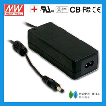 Meanwell GSM60B15-P1J AC DC single output medical 60W 15V 4A adapter