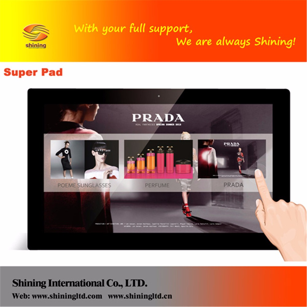 New product 18.5 inch 3g wifi network capacitive touch android tablet prices in pakistan SH1851WF-T