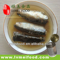 425g Canned Sardines in Vegetable Oil