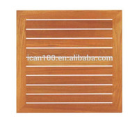Wholesale Restaurant Square Outdoor Wooden Table Tops