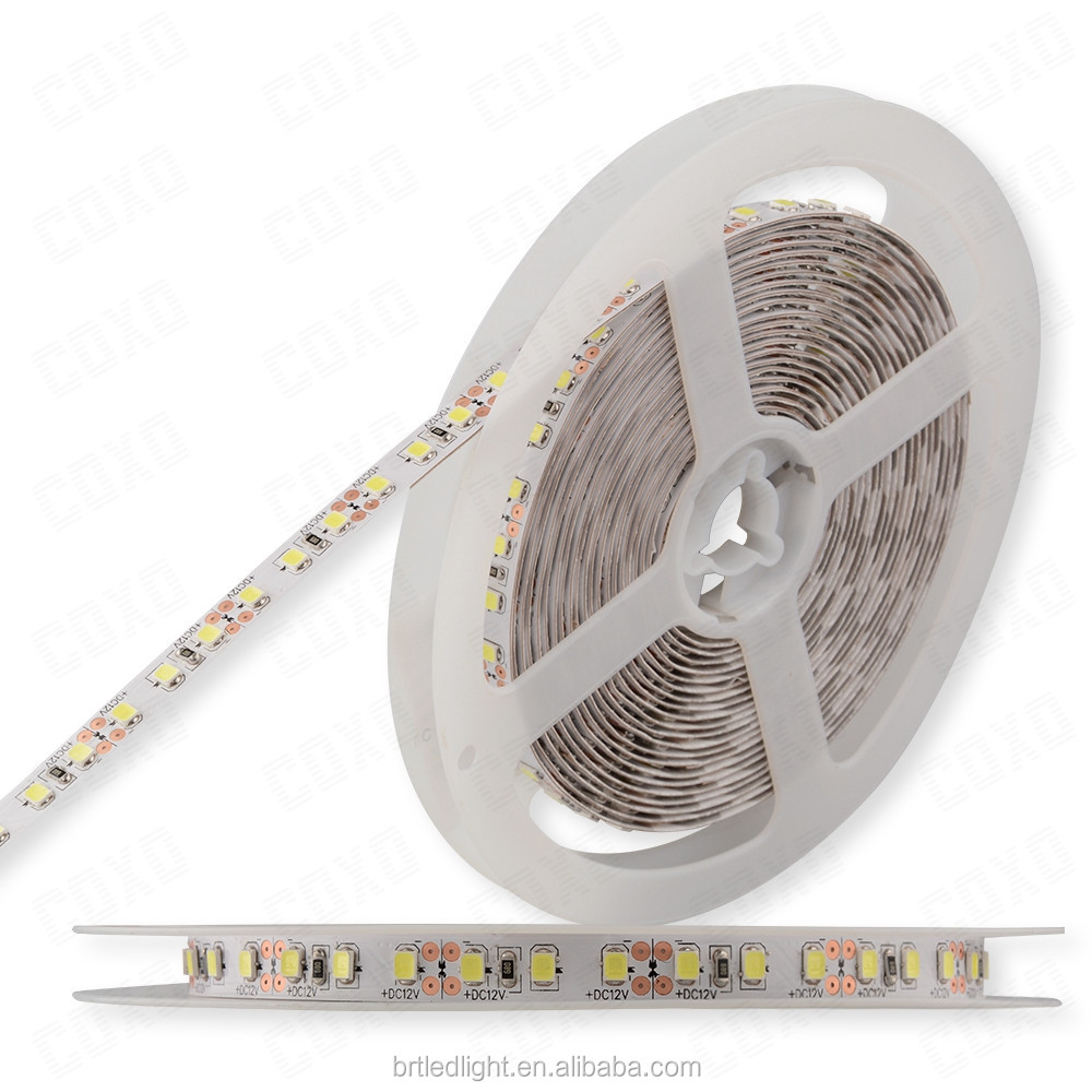 Pure white 6500K LED strip lights 200mp 3m adhesive tape back smd 5050 LED STRIP