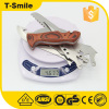 Wooden handle field dedicated multi-function knife with saw