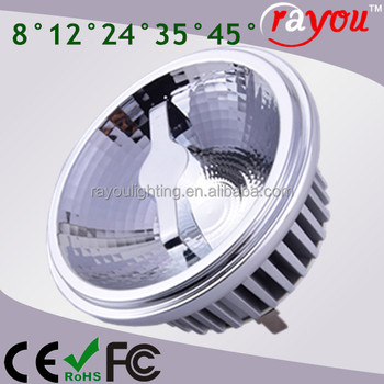 new design r111 led dimmable, reflector ar111 led dimmable g53 12 volt, sharp ar111 led for hall ceiling
