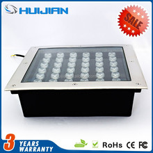 2015 hot sale product Side-light type 300*300 square ingound lights 36W outdoor undergound light