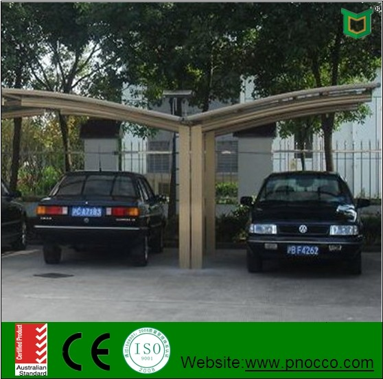Car shed design aluminum double carport for sale buy