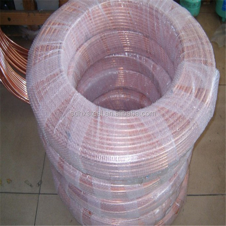 supplier 1/2 3/8 3/4 6/7 cheap air conditioner copper pipe size