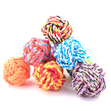 wholesale pet supply mixing cotton dog rope toys