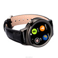 Touch Screen smart watch with SIM card sport leather smartwatch mobile phone watch pedometer low cost wristwatch