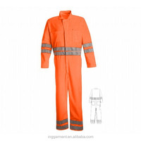 Personalized Fire Retardant Working Overalls