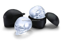 Customized ECO- friendy fancy Skull Heads silicone ice cube tray