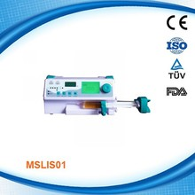 Portable Medical Infusion syringe Pumps with maximum 8 channels stackable MSLIS01D