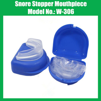 Color Box Packing Sleep Care Anti Snore Apnea Kit Mouthpiece anti snore mouth tray