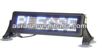 3G input magnetic led taxi/car top/roof advertising signs