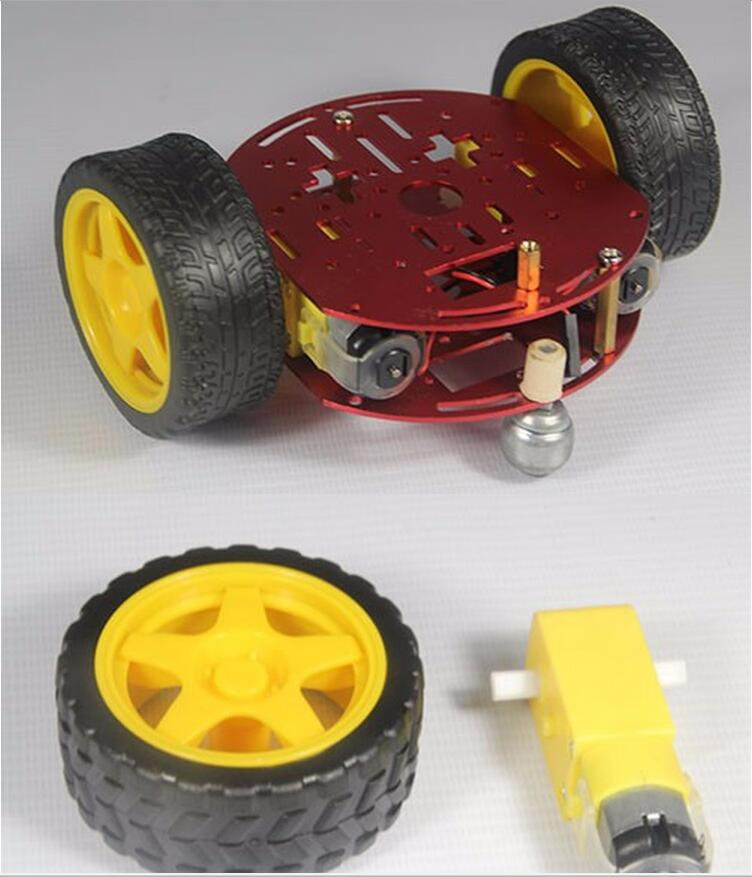 2WD/4WD Smart Robot Car Chassis Kits for arduinos with Speed (5 colors)