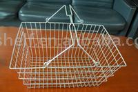 Dachang Factory High quality powder coating or Electroplated metal shopping basket