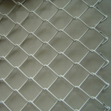 High Quality hot dipped galvanized diamond wire mesh used chain link fence for sale factory price