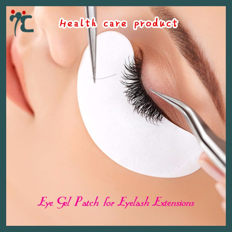 lint free under eye gel patches for eyelash extension eye pads